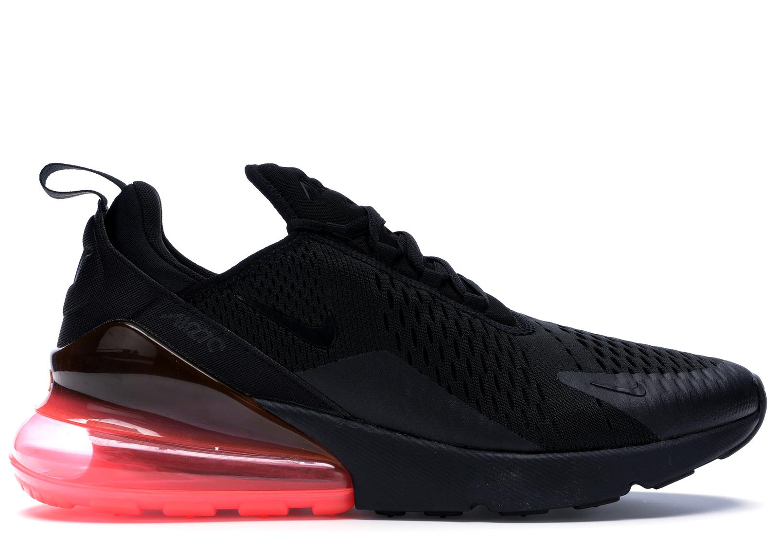 Nike Air Max 270 Black Hot Punch