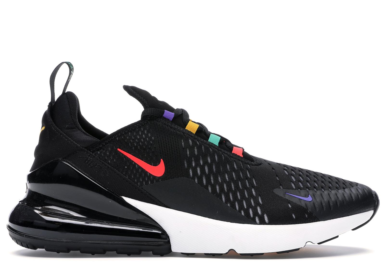 Nike Air Max 270 Black Multi-Color