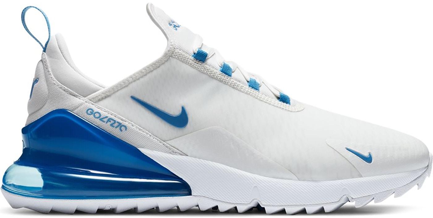 Nike Air Max 270 Golf White University Blue