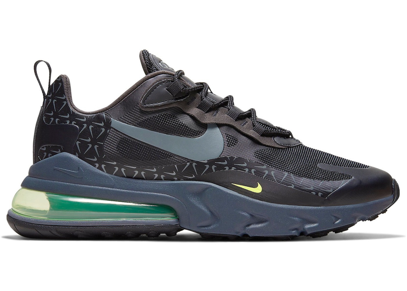 Nike Air Max 270 React Just Do It Pack Black