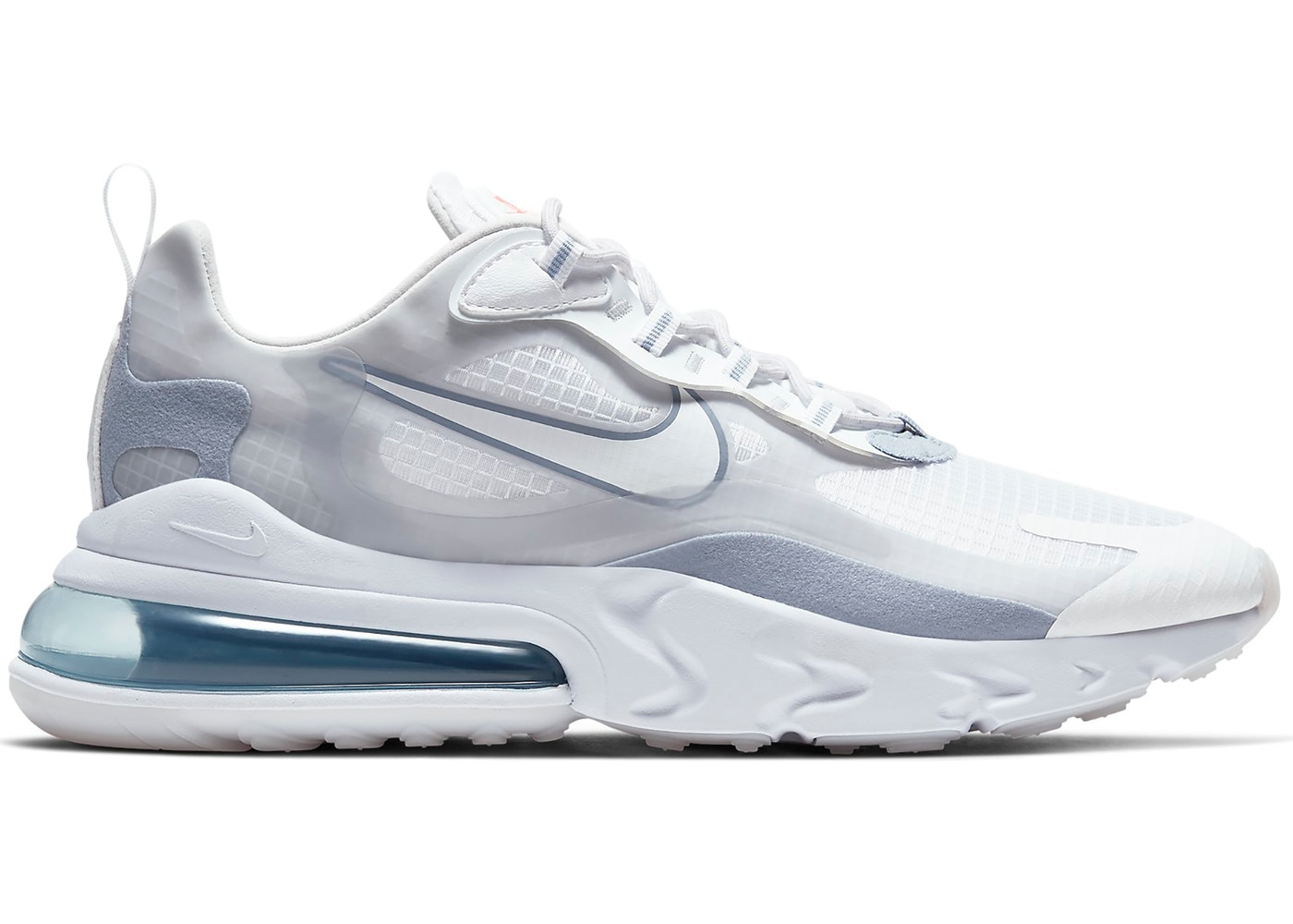 desmayarse Distante hacer clic  Nike Air Max 270 React White Pure Platinum - CT1265-100