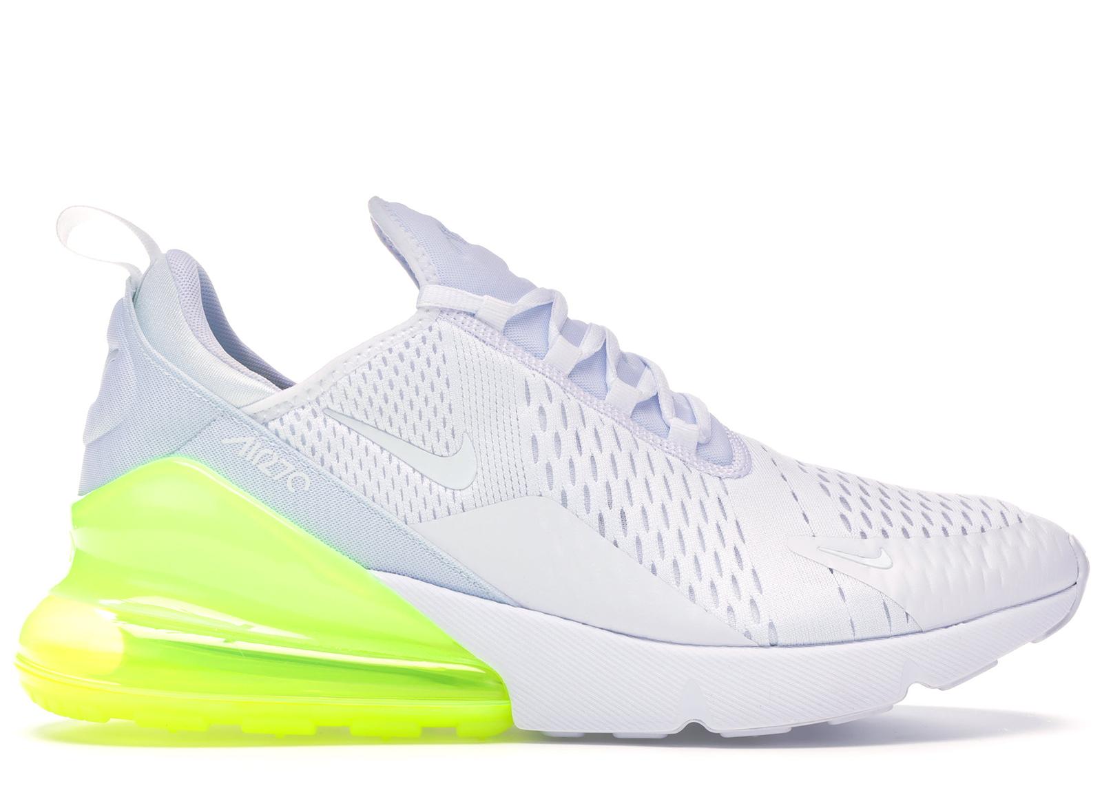 Nike Air Max 270 White Pack (Volt)