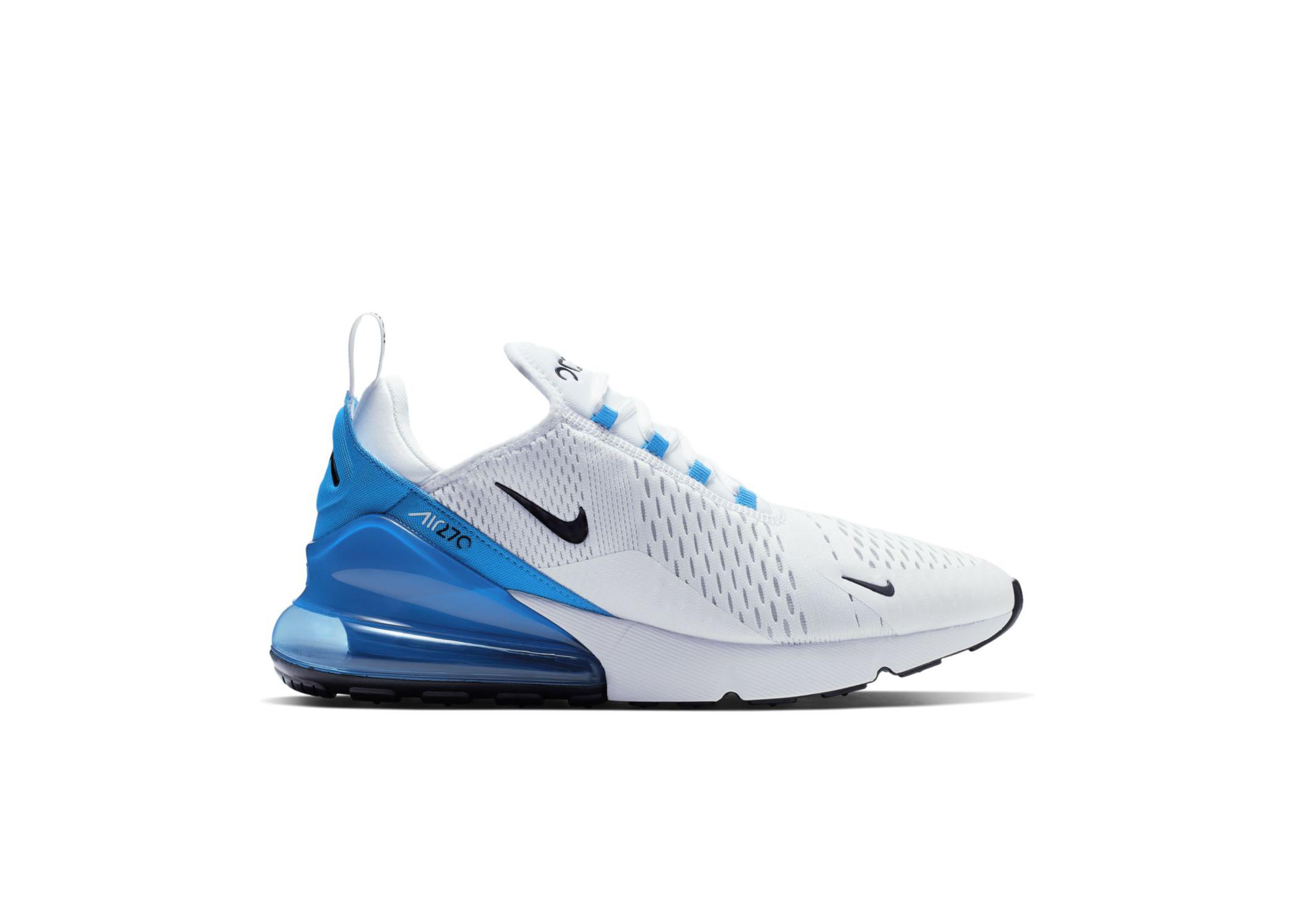 Nike Air Max 270 White Photo Blue - AH8050-110