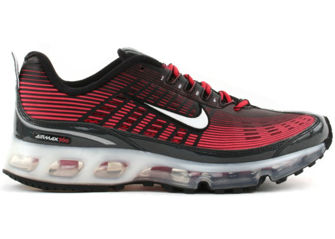 Nike Air Max 360 Black Atom Red - 310908-012