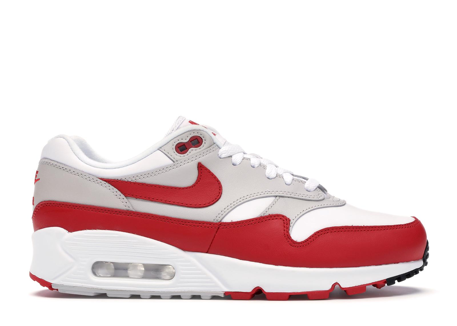Nike Air Max 90/1 White University Red (W)