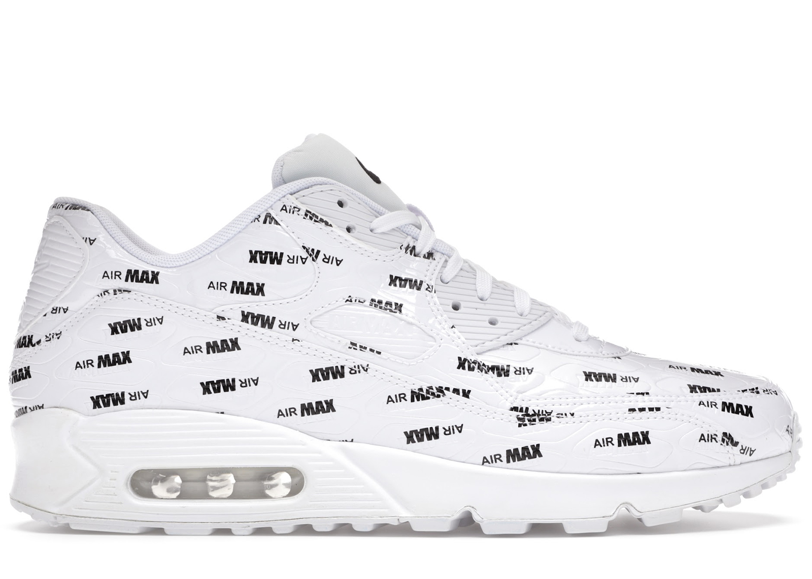 Nike Air Max 90 All Over Print White Black