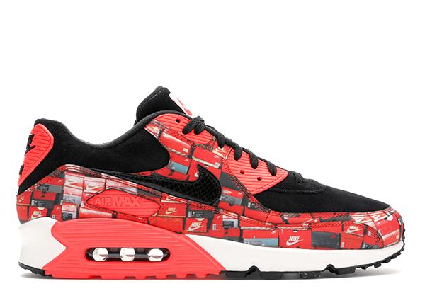 Nike Air Max 90 Atmos We Love Nike (Bright Crimson) - AQ0926-001