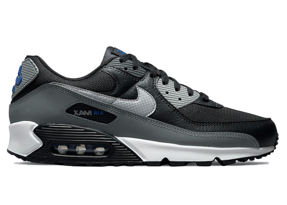Nike Air Max 90 Black Grey Blue