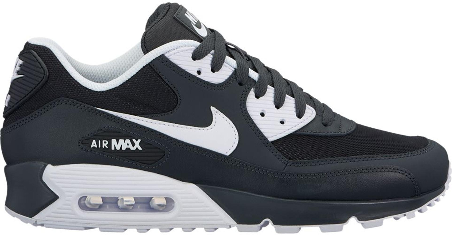 Nike Air Max 90 Black White (2018) - 537384-089