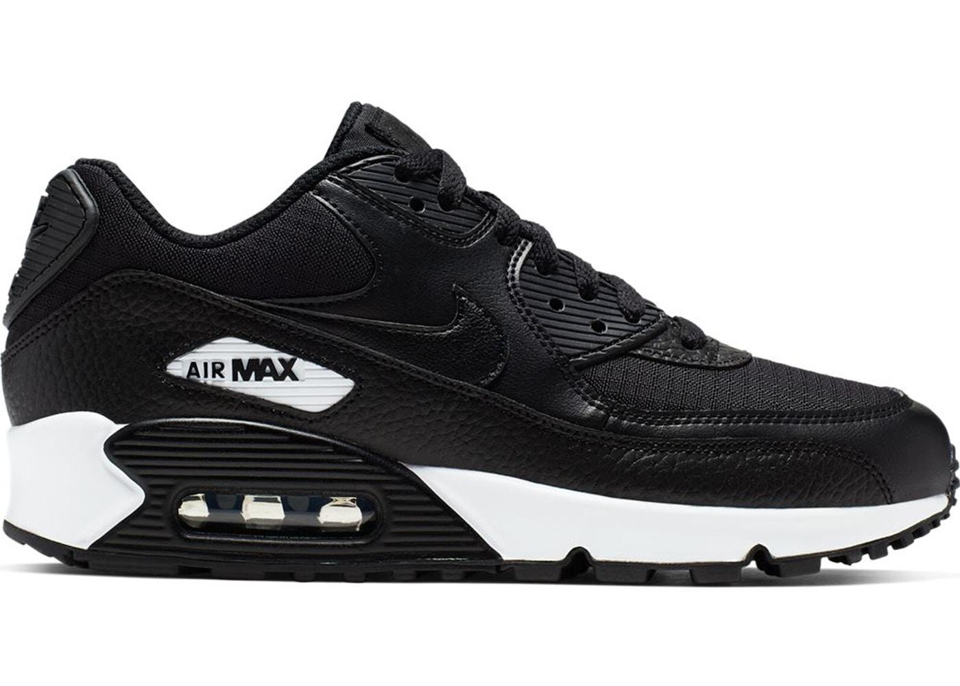 Nike Air Max 90 Black White Black (W)