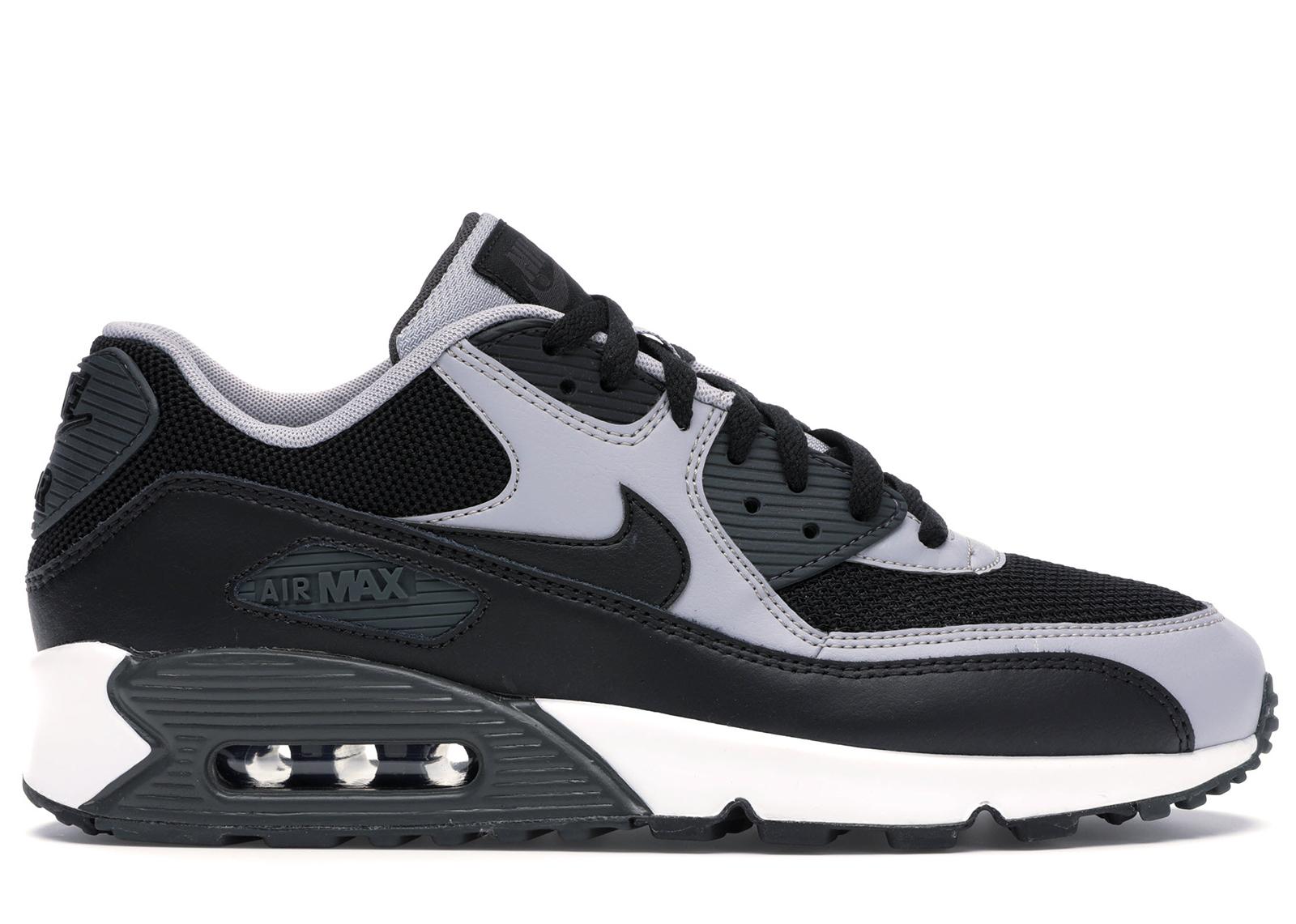Nike Air Max 90 Black Wolf Grey