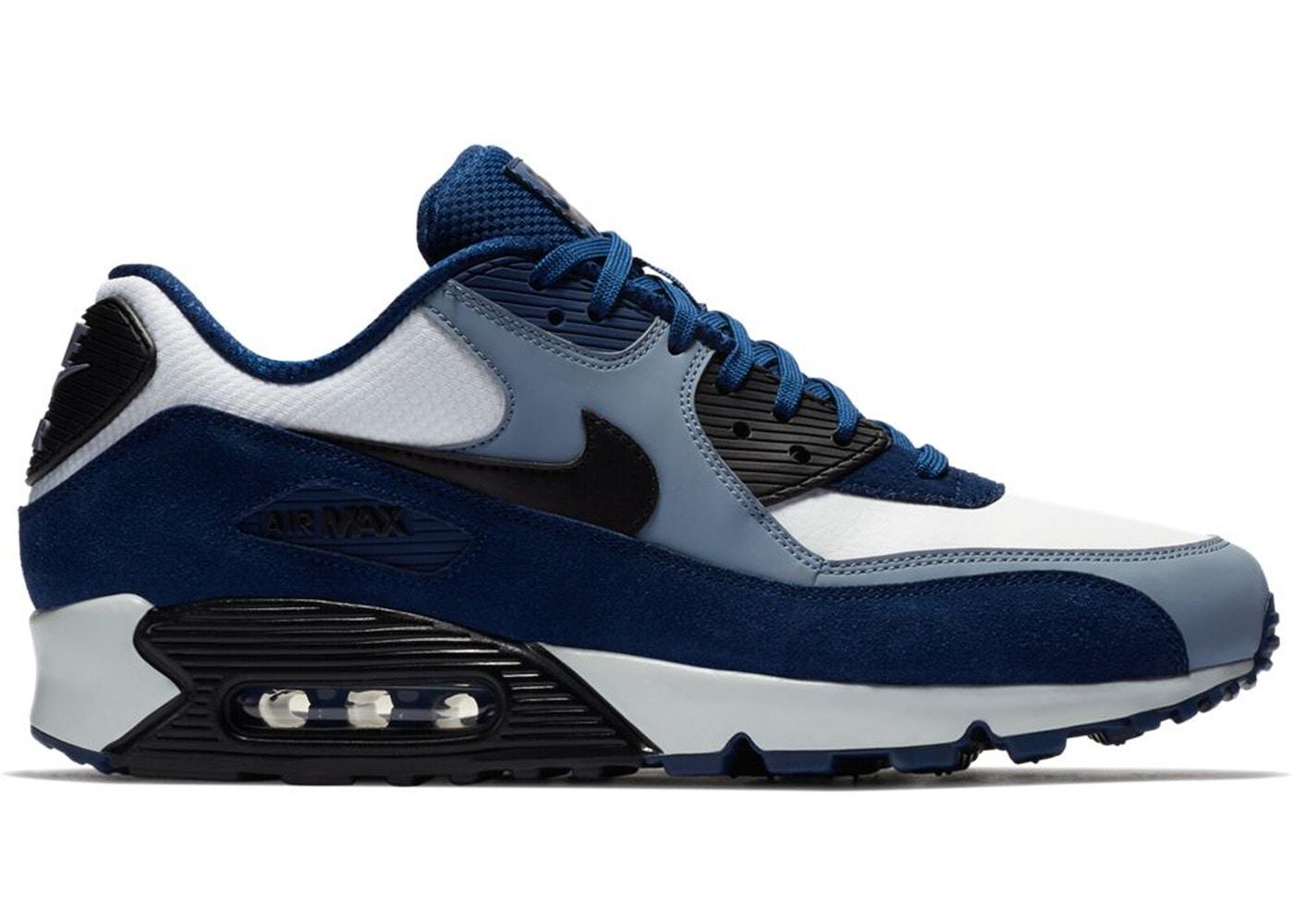 air max 90 noir bleu