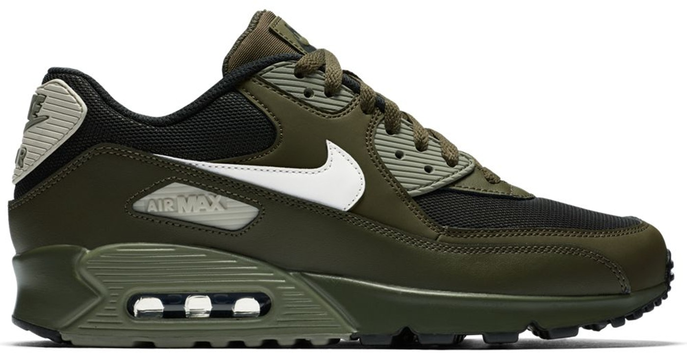 Nike Air Max 90 Cargo Khaki Light Bone - 537384-309