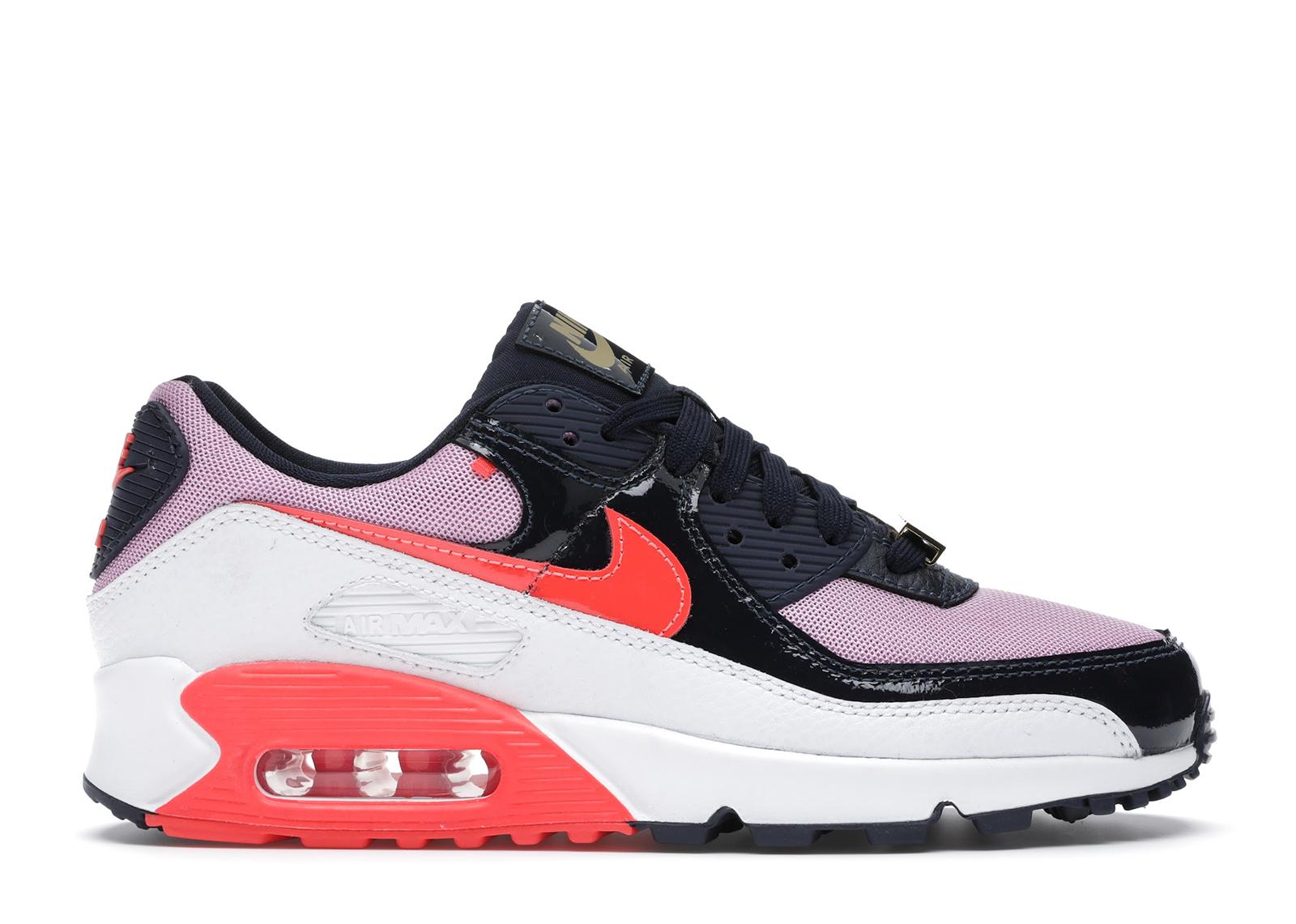 Nike Air Max 90 Cuban Link Obsidian Pink (W) - CZ8099-100