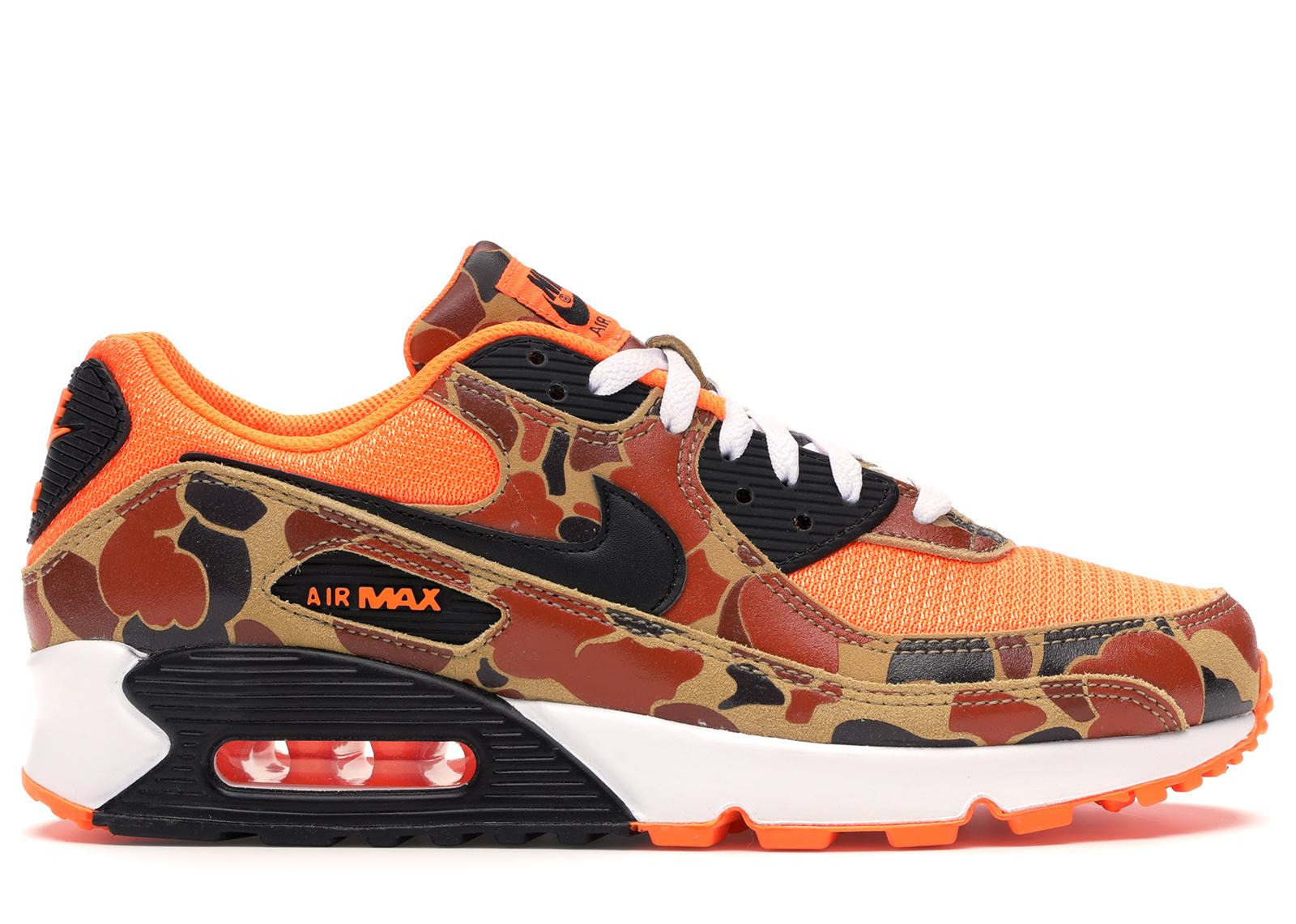 Nike Air Max 90 Duck Camo Orange - CW4039-800
