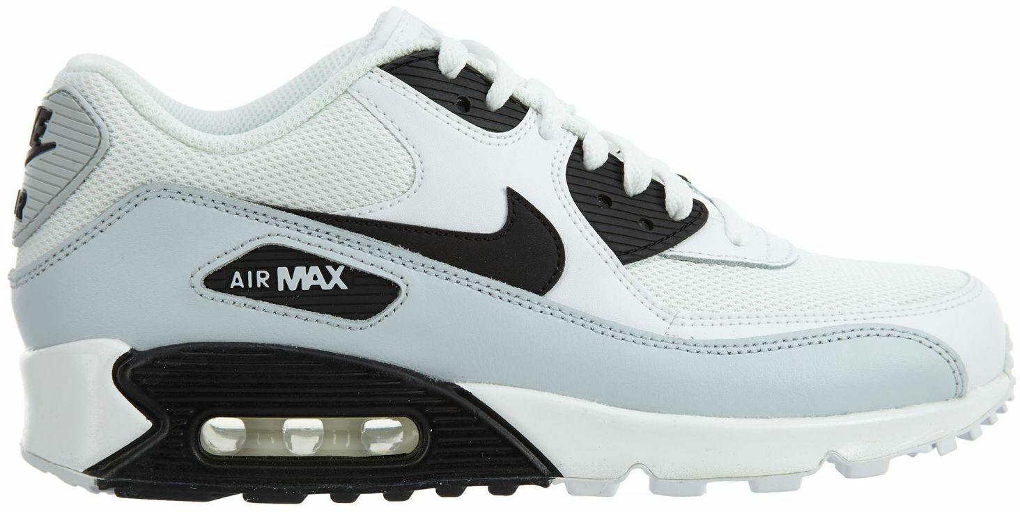 Nike Air Max 90 Essential White/Black-Pure Platinum-White - 537384-127
