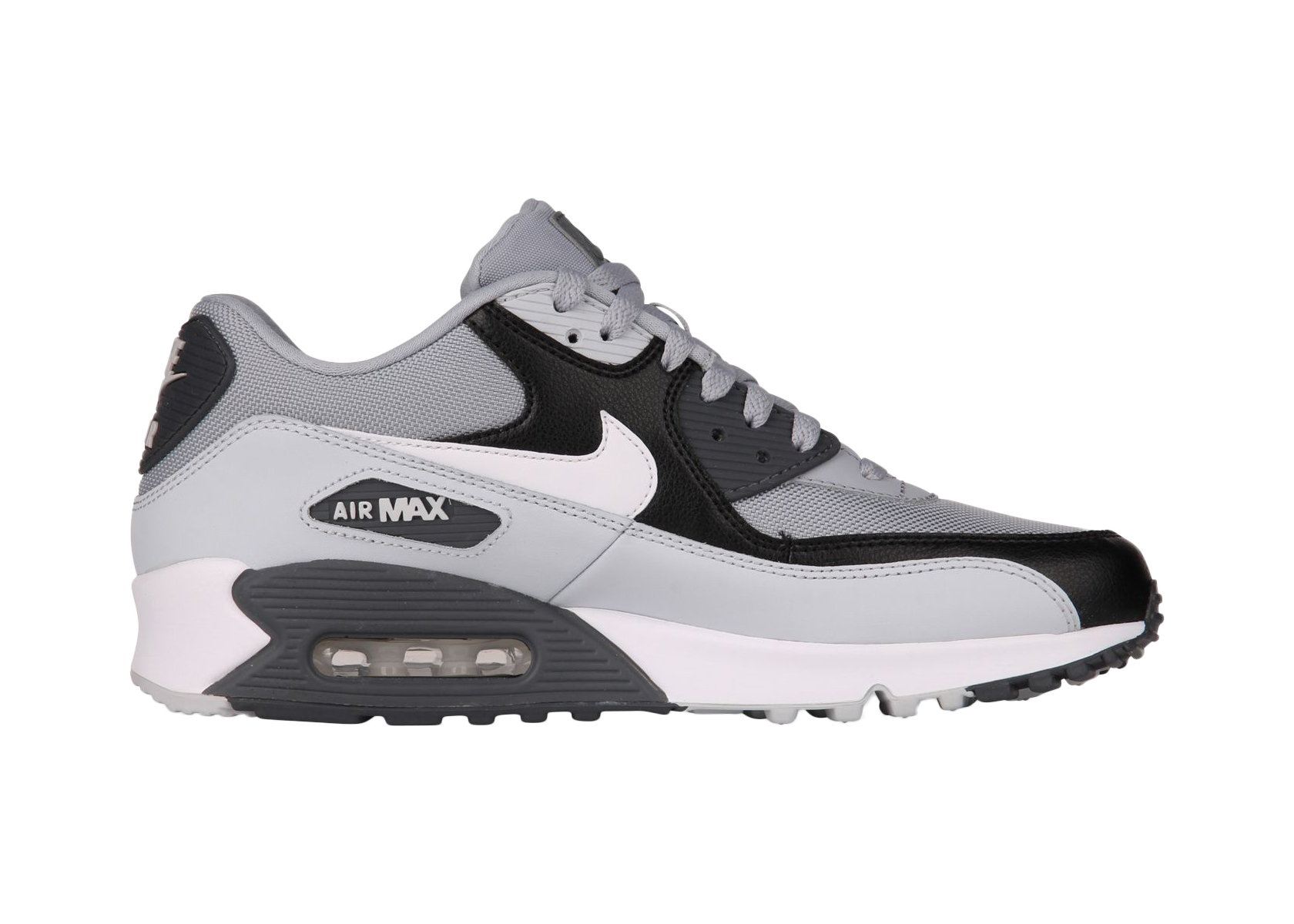 Nike Air Max 90 Essential Wolf Grey/White-Pure Platinum - 537384-083