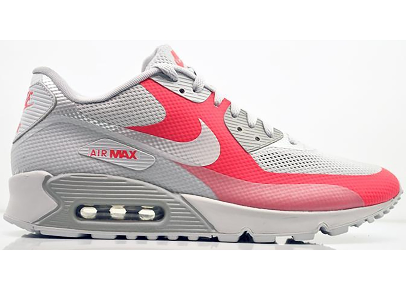 Nike Air Max 90 Hyperfuse Grey Solar Red