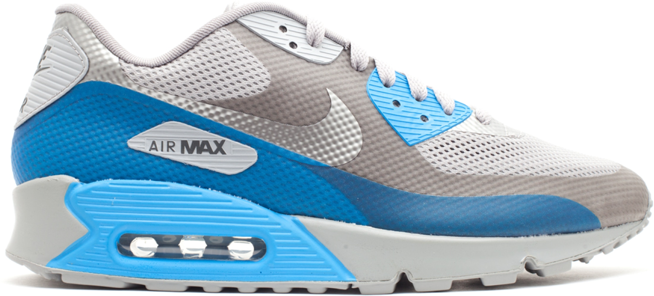 Nike Air Max 90 Hyperfuse Midnight Fog Blue Glow - 454446-001