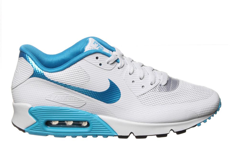 Nike Air Max 90 Hyperfuse Platinum Dynamic Blue - 454446-040