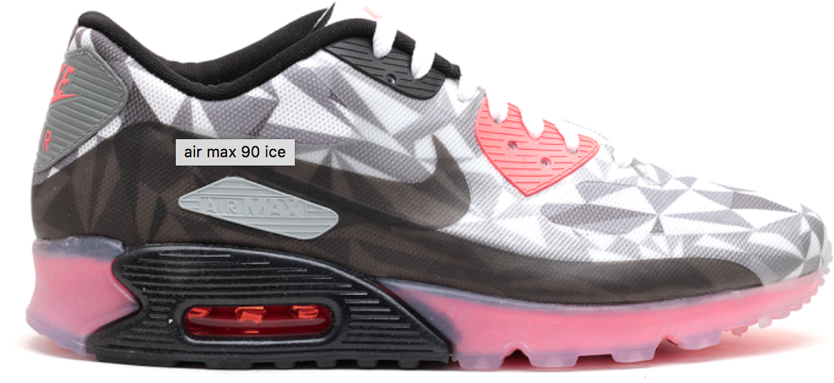 Nike Air Max 90 Ice Dark Grey