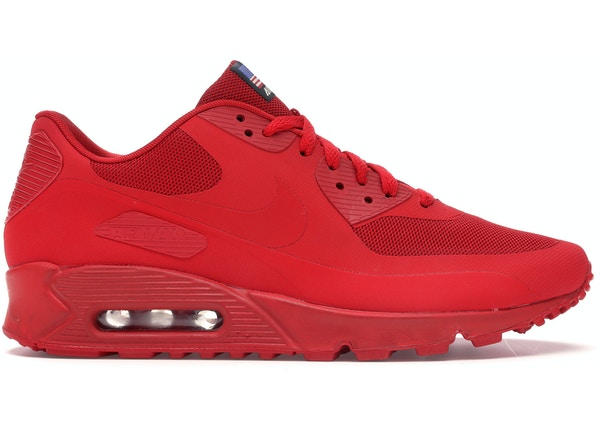 Travieso Electropositivo tema  Nike Air Max 90 Hyperfuse Independence Day Red - 613841-660