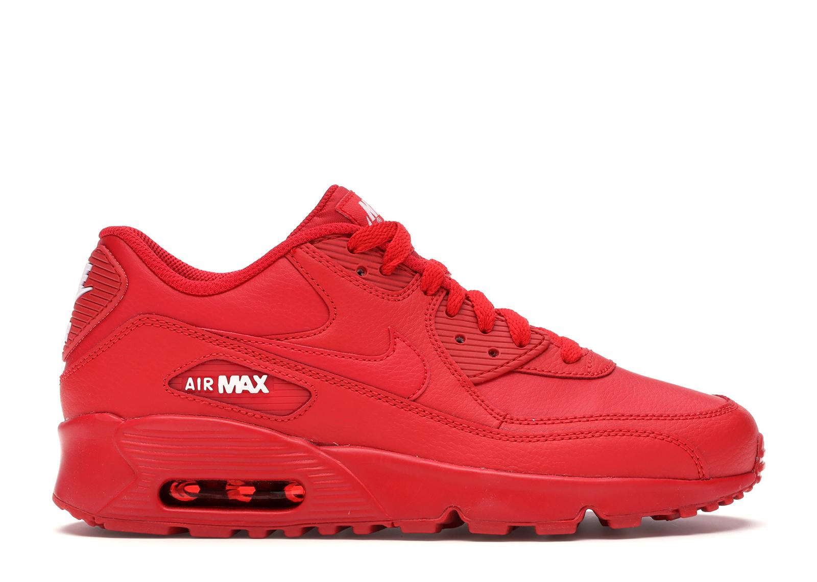 Nike Air Max 90 LTR Red (GS) - 833412-603