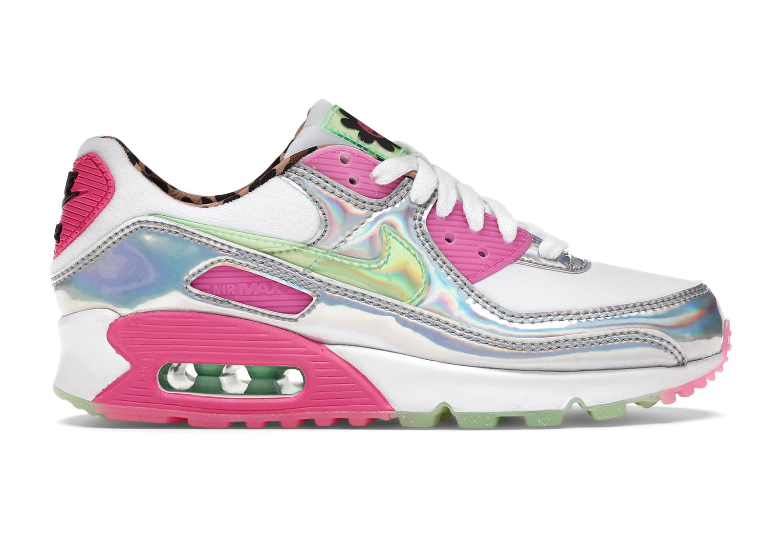 Nike Air Max 90 LX Daisy Leopard Iridescent (W)