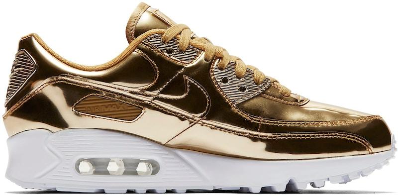 Nike Air Max 90 Metallic Gold 2020 (W)
