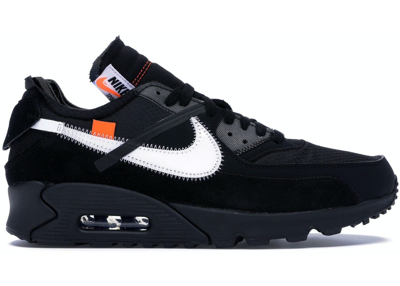 Húmedo perfume Sicilia  Nike Air Max 90 OFF-WHITE Black - AA7293-001