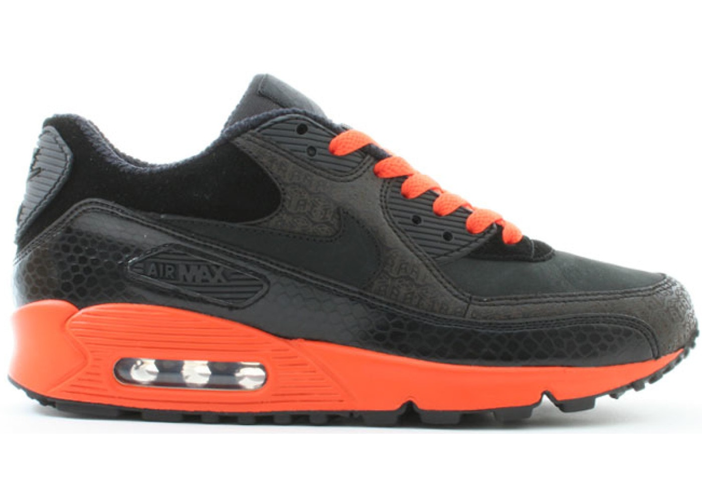 Nike Air Max 90 Powerwall Black Orange