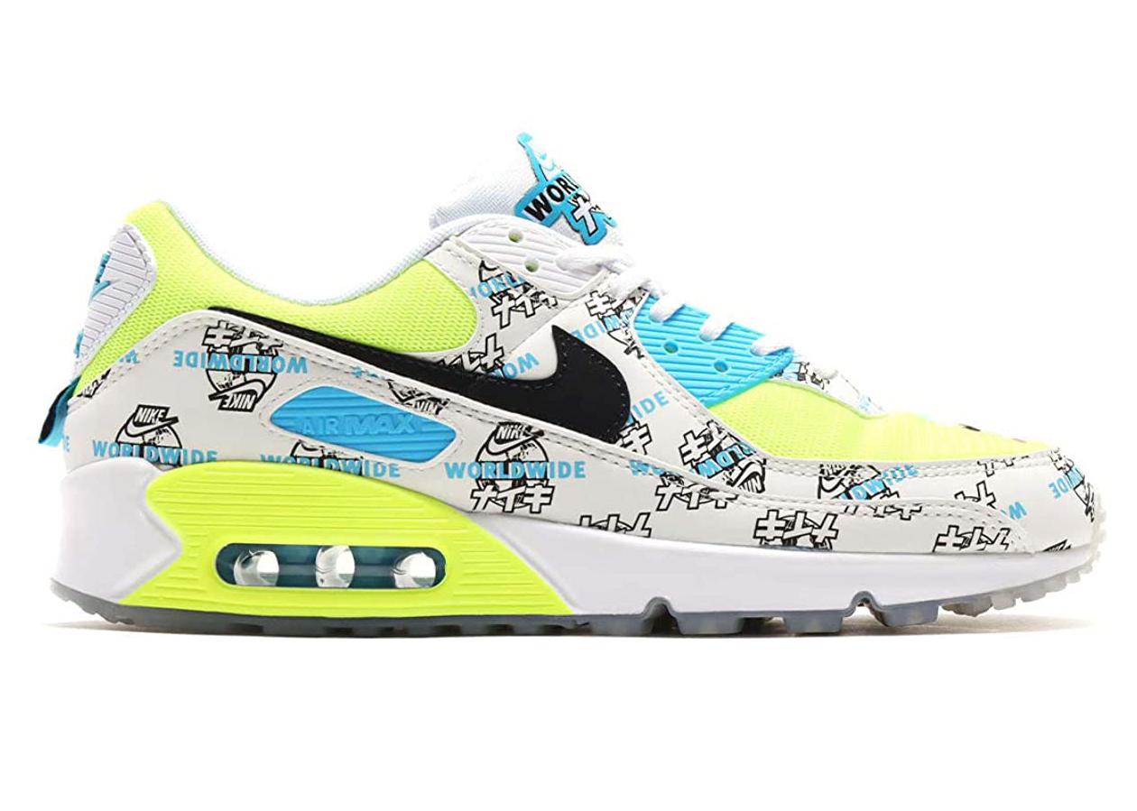 Nike Air Max 90 SE Worldwide Katakana White (W)