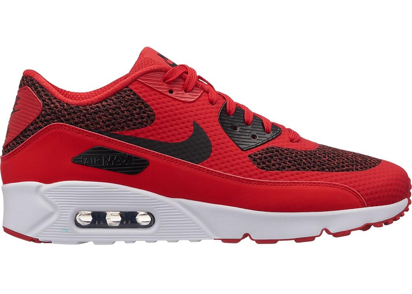Nike Air Max 90 Ultra 2.0 University Red Black - 875695-604