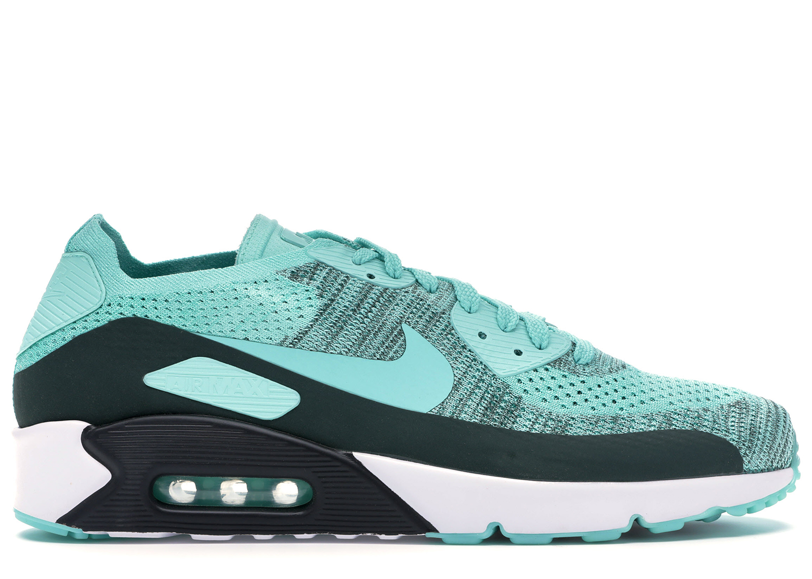 Nike Air Max 90 Ultra 2.0 Flyknit Hyper Turquoise Hyper Turquoise ...