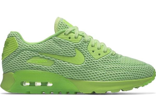 Nike Air Max 90 Ultra Breathe Ghost Green Electric Green (W ...