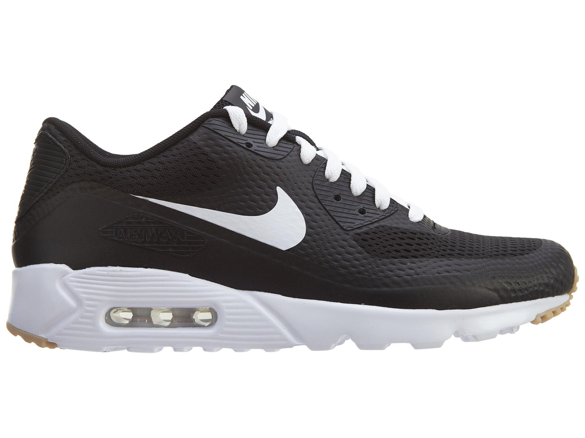 Nike Air Max 90 Ultra Essential Black White-Black