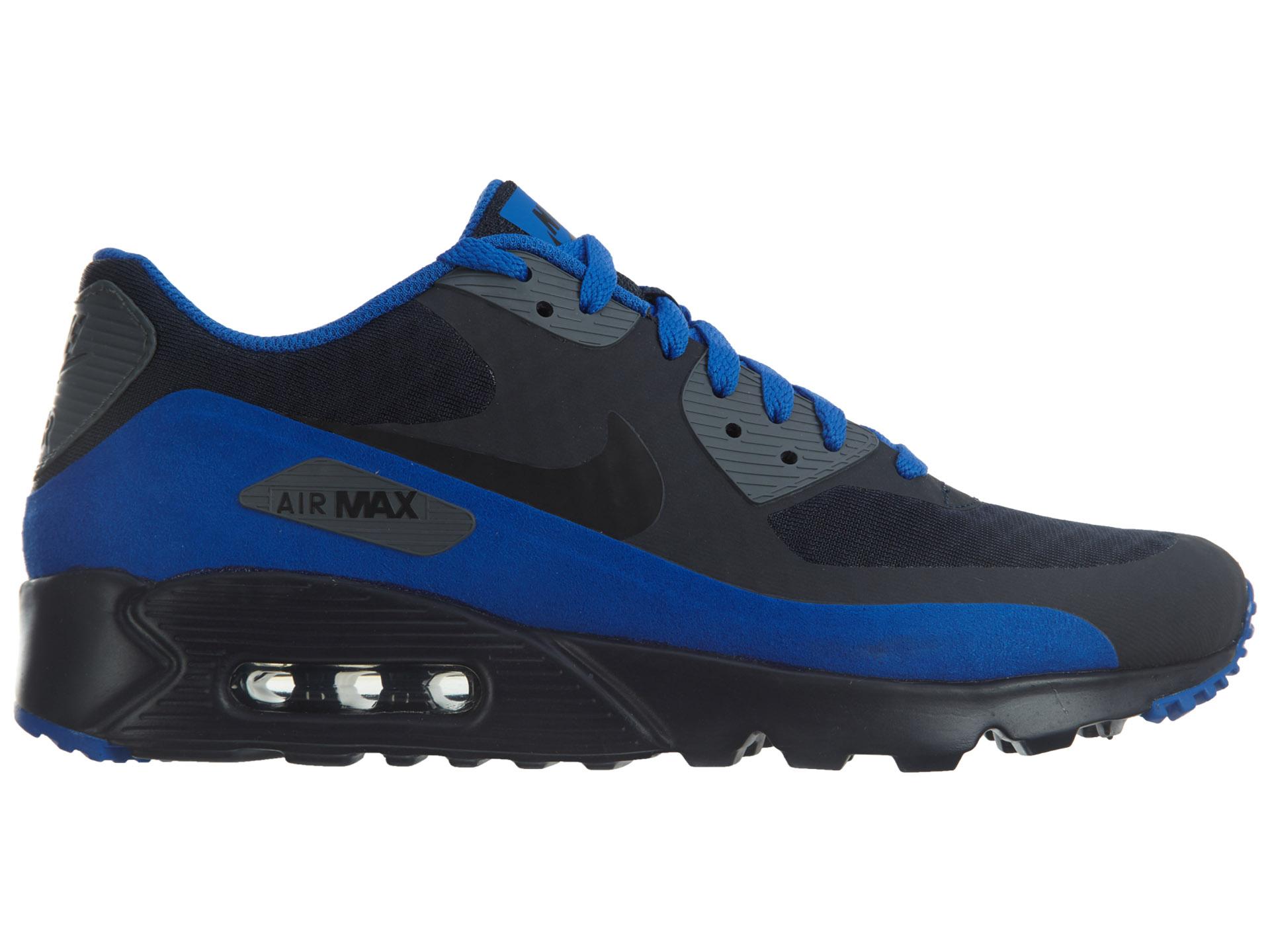 Nike Air Max 90 Ultra Essential Dark Obsidian/Black - 819474-403