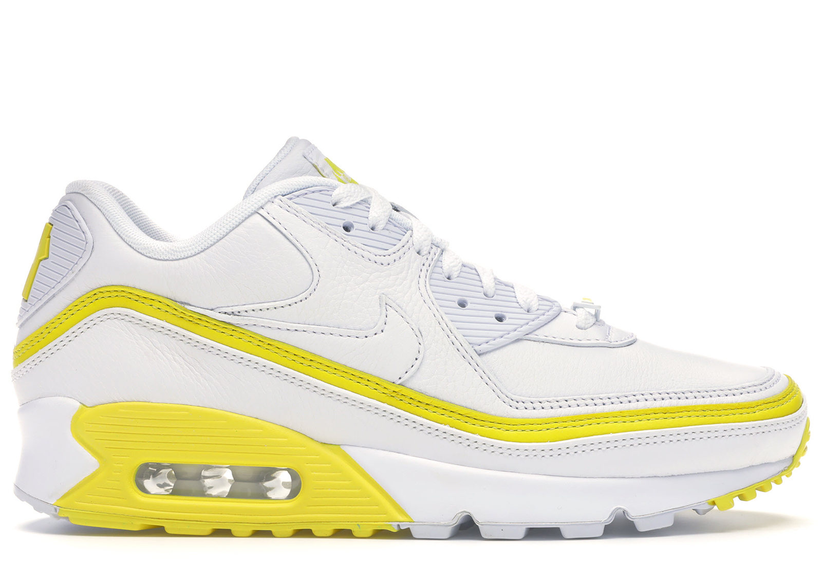 Nike Air Max 90 Undefeated White Optic Yellow