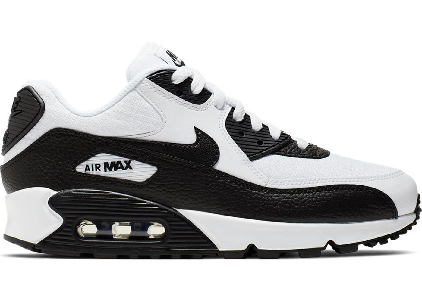infinito cocinero Primer ministro  Nike Air Max 90 White Black (2019) - 325213-139