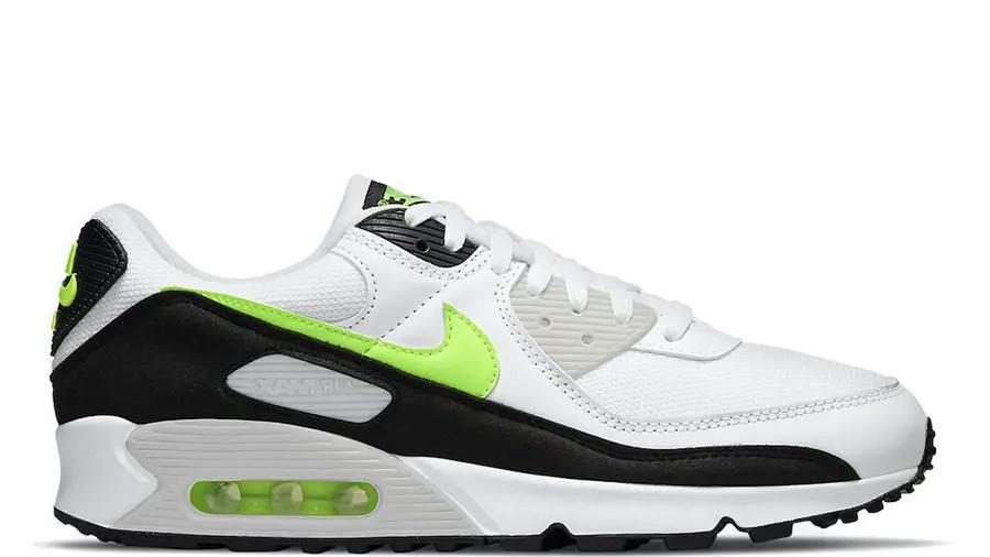 Nike Air Max 90 White Hot Lime