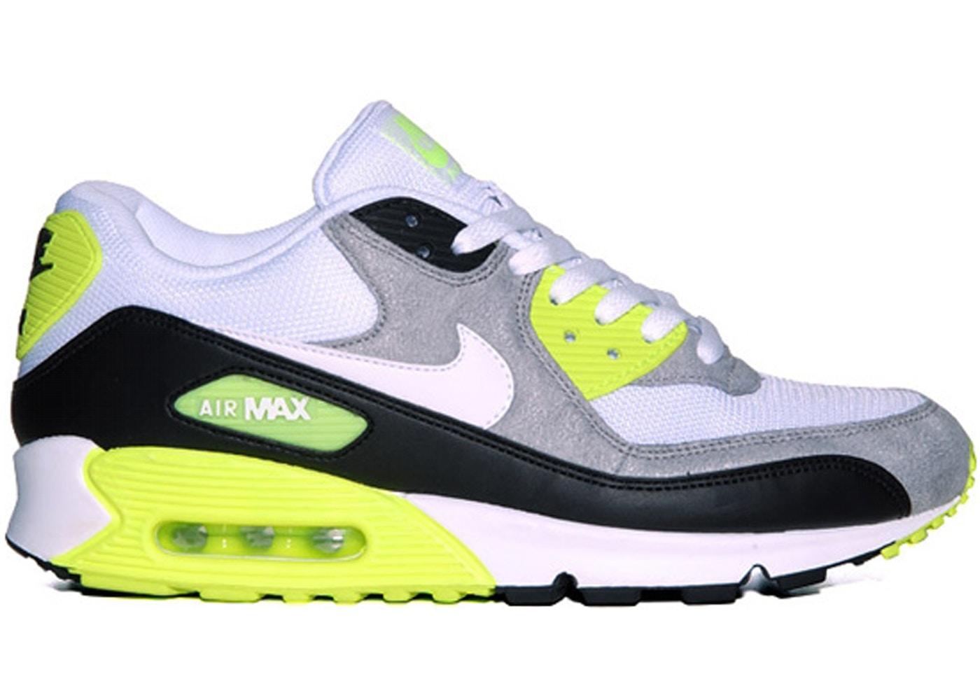 Nike Air Max 90 White Volt (2012)