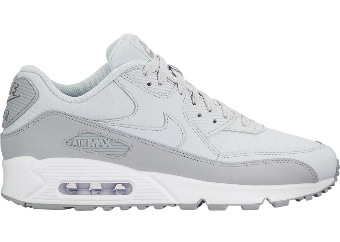 Nike Air Max 90 Wolf Grey Pure Platinum