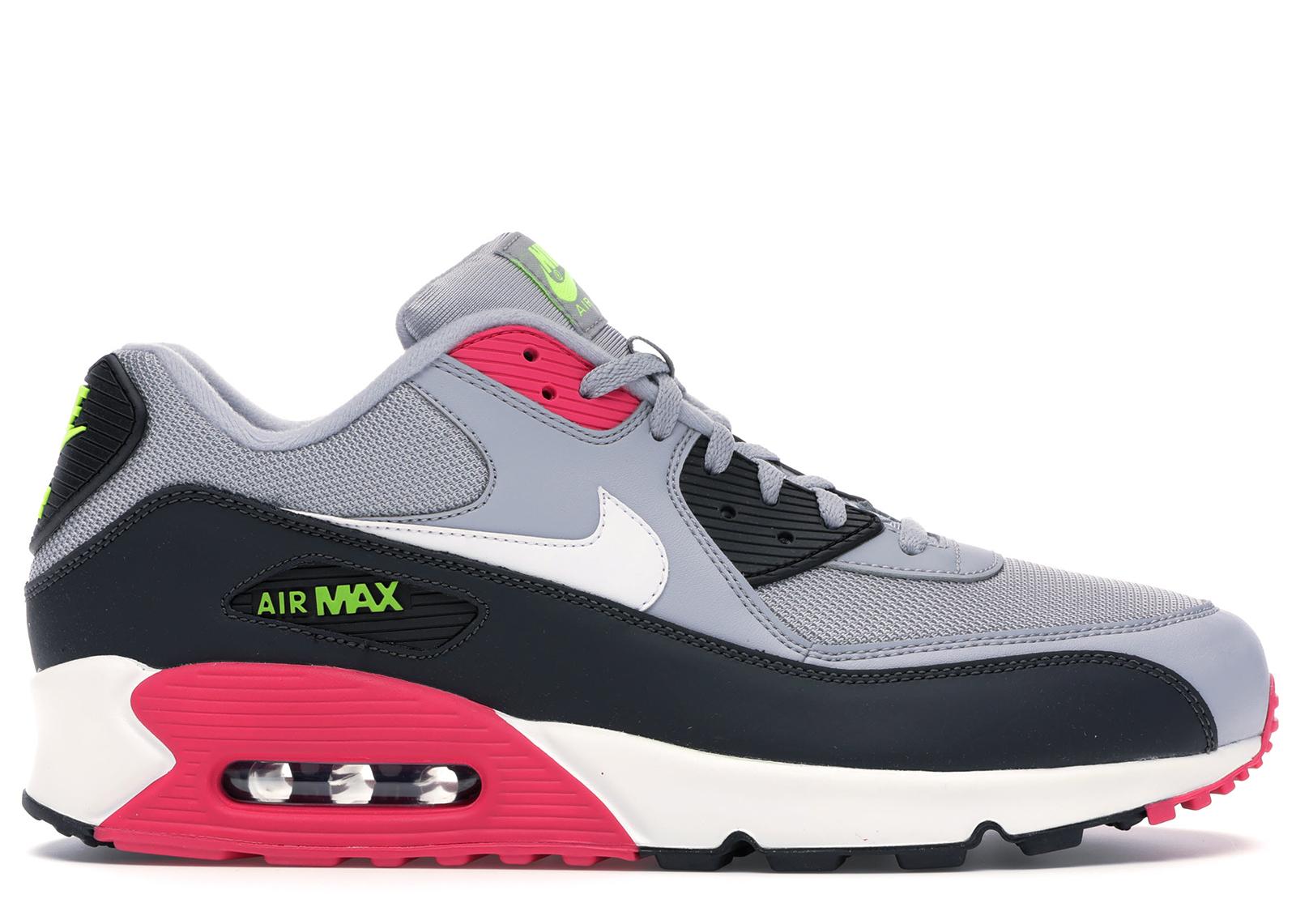 Nike Air Max 90 Wolf Grey Rush Pink