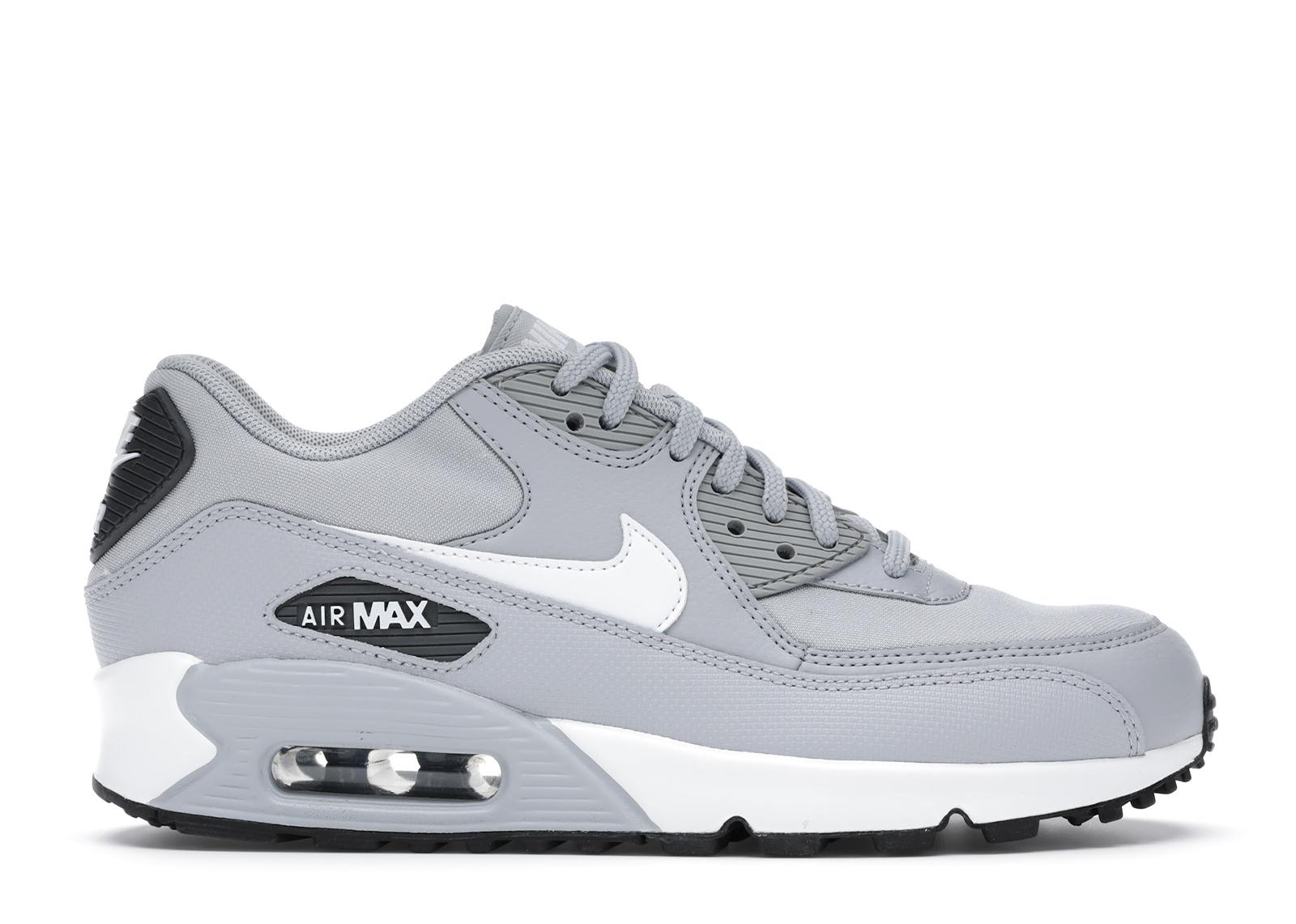 Nike Air Max 90 Wolf Grey White Black (W)