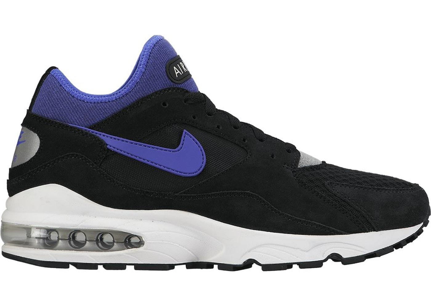 Nike Air Max 93 Black Persian Violet - 306551-015