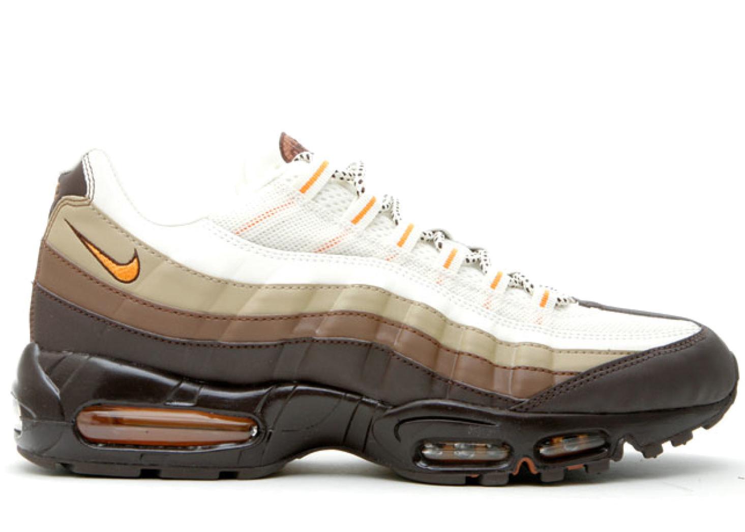 Nike Air Max 95 Dark Cinder Shock Orange