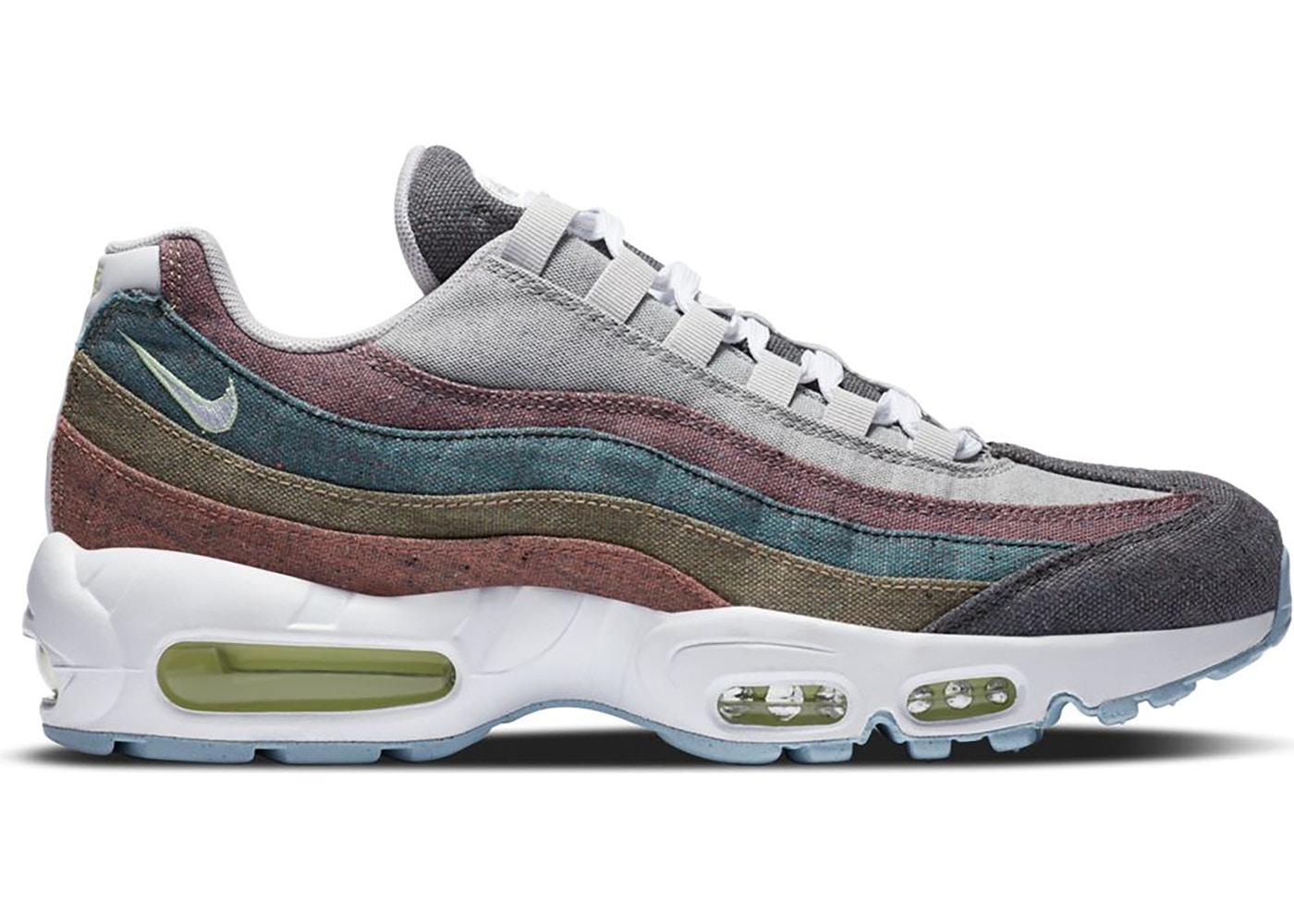 tono Soledad entrevista  Nike Air Max 95 Recycled Canvas - CK6478-001