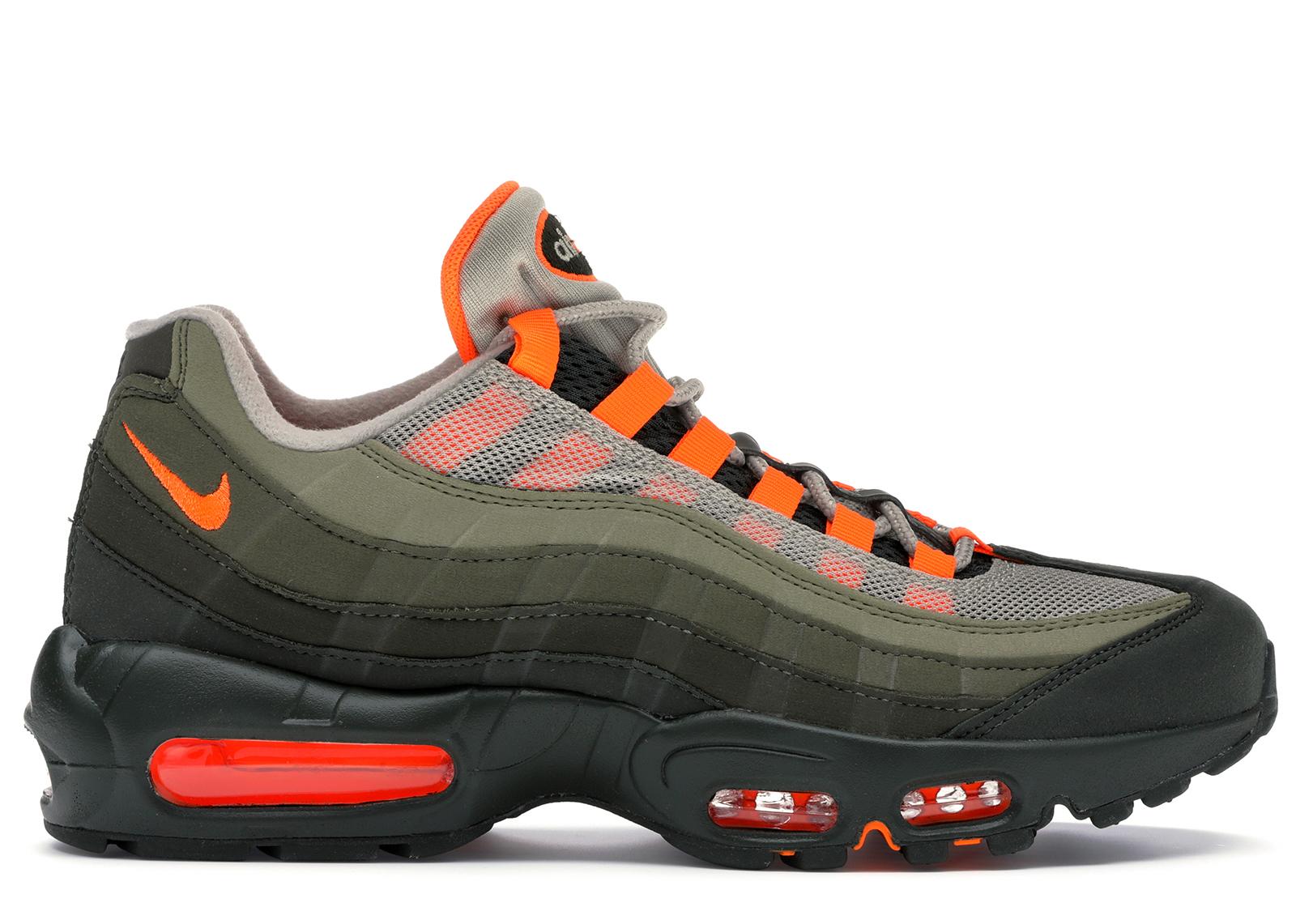air max 95 arancioni