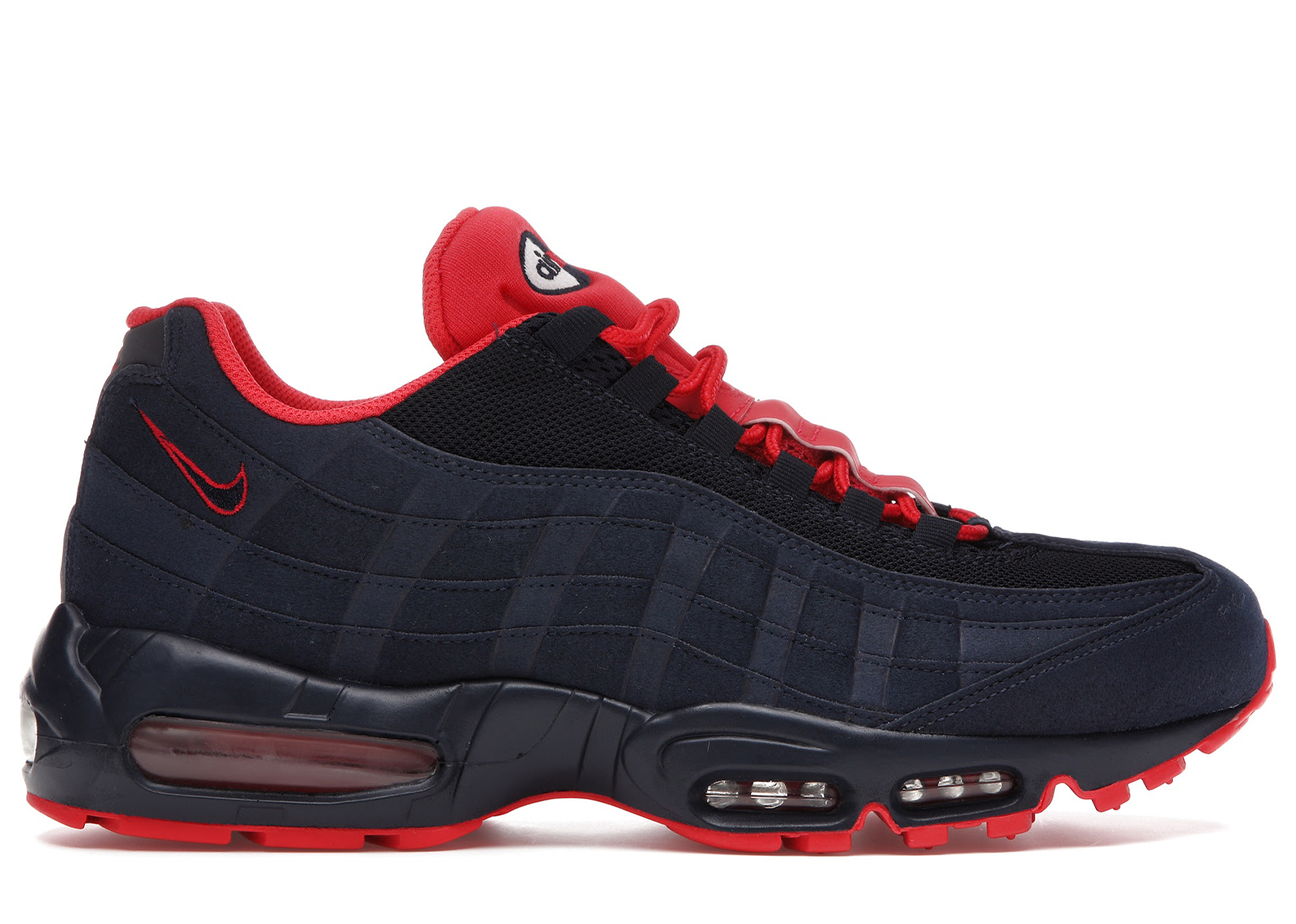 Nike Air Max 95 Obsidian Action Red - 609048-400