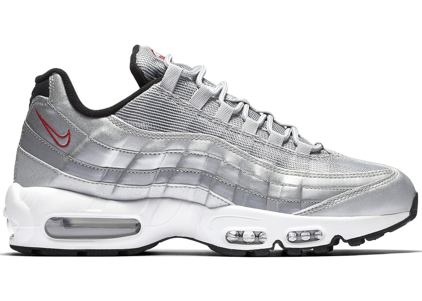 air max 95 silver